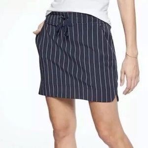 Athleta 6 navy blue stretch athletic tennis skirt